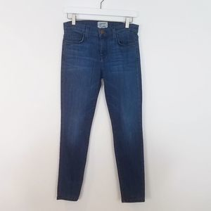 CURRENT/ELLIOTT Cropped Ankle Skinny Jeans Size 28